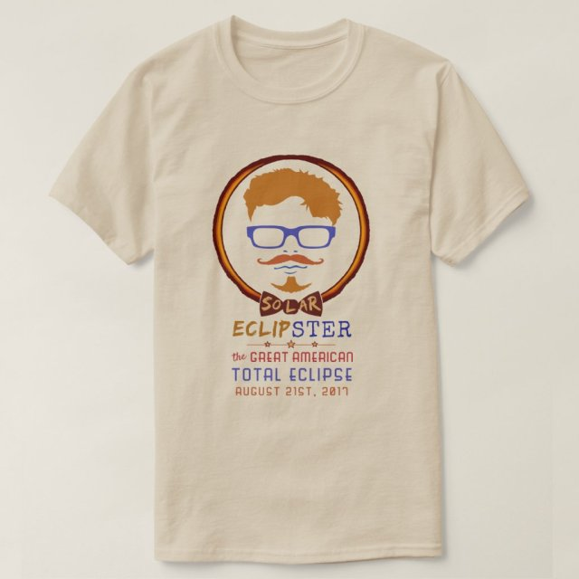 Total Solar Eclipse August 21 2017 Funny Hipster T-Shirt