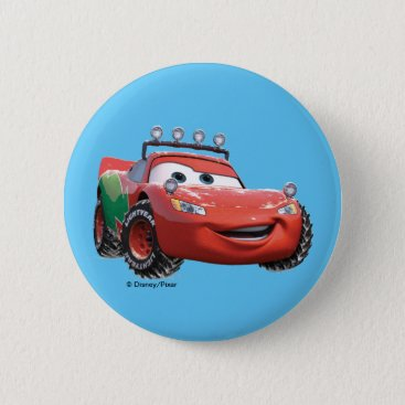 Toy Story | Lightning McQueen Looking Good Pinback Button