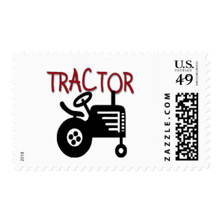 Tractor Custom Postage and Tractor Zazzle Custom Stamps