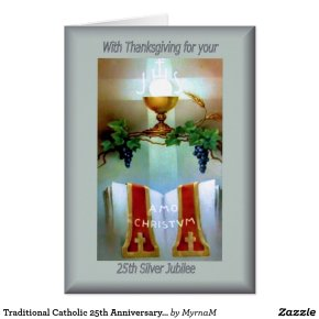 Traditional Catholic 25th Anniversary ordination