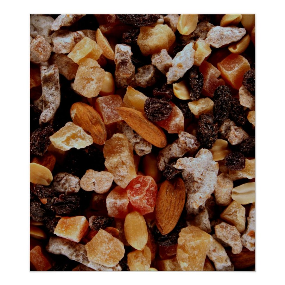 Trail Mix Poster