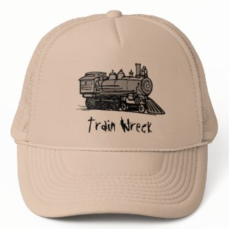 Train Wreck hat hat