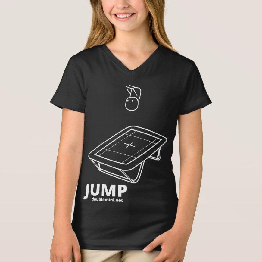 Trampoline JUMP shirt dark