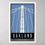 Travel Oakland Poster