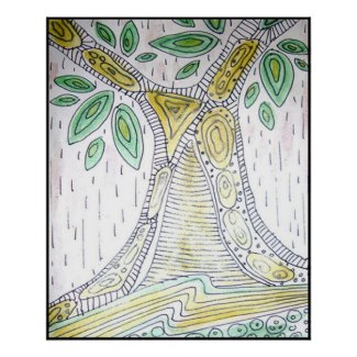 Tree Abstract Artwork print