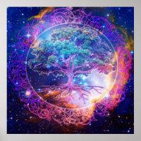 Tree of Life Healing Poster