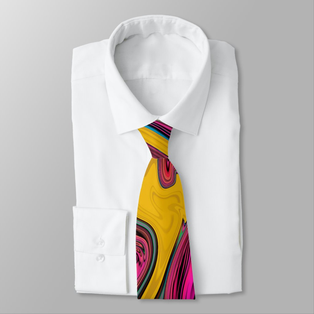 Trendy Cool Colourful Design Tie