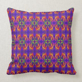 Tribal Fiery throwpillow
