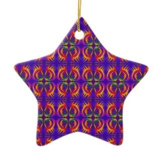 Tribal Fiery ornament