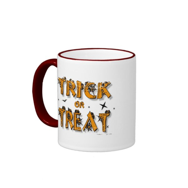 Trick or Treat - 2-sided Ringer Mug mug