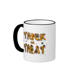 Trick or Treat - 2-sided Ringer Mug mug