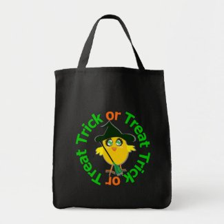 Trick or Treat Halloween Chick bag