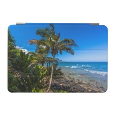 Tropical coastline iPad mini cover