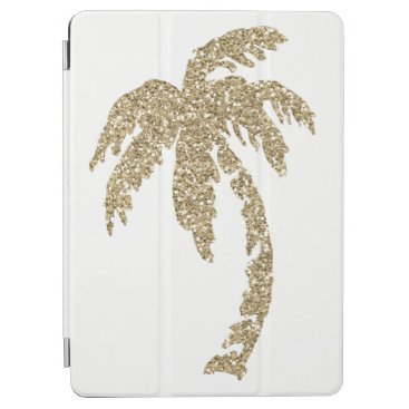 Tropical Gold Palm Tree Custom iPad Air Smart Case