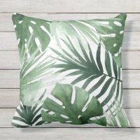 Tropics Outdoor Pillow | Zazzle