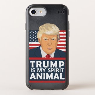 Trump is My Spirit Animal Funny Speck iPhone Case