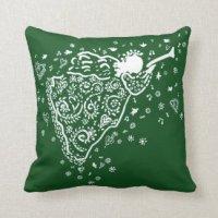 Christmas Angel Pillows - Decorative & Throw Pillows | Zazzle