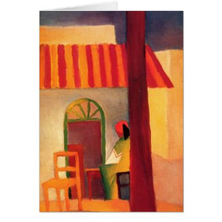 Turkish Cafe by August Macke (1914)