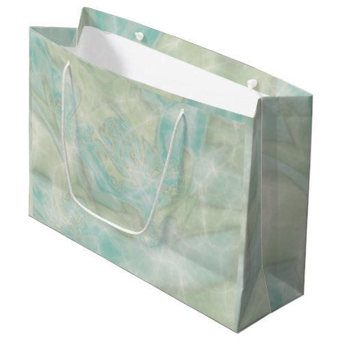 Turquoise Large Gift Bag