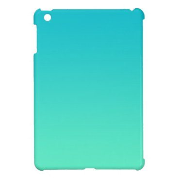 Turquoise Ombre iPad Mini Cover