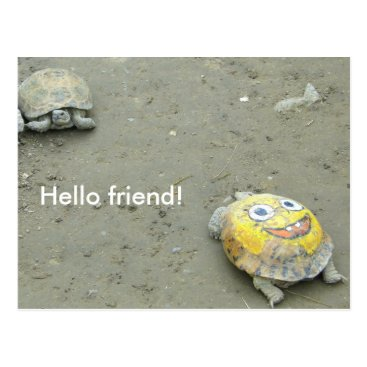 Turtle fan SpongeBob Postcard