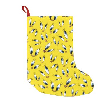TWEETY™ Face Pattern Small Christmas Stocking