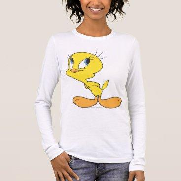 Tweety Hmm Long Sleeve T-Shirt