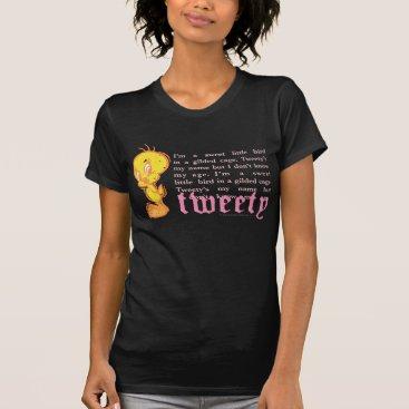 """Tweety """"I Am A Sweet Little Bird"""" T-Shirt"""