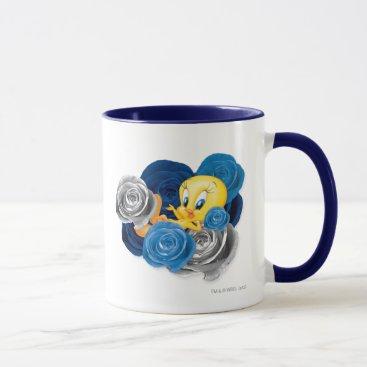 Tweety With Roses Mug