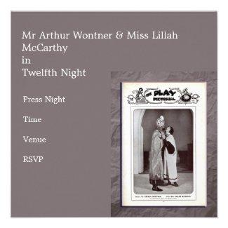 Twelfth Night Invitation