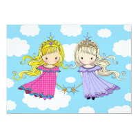 Twin Girls Birthday Party Invites