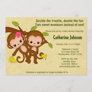 double trouble invitations zazzle