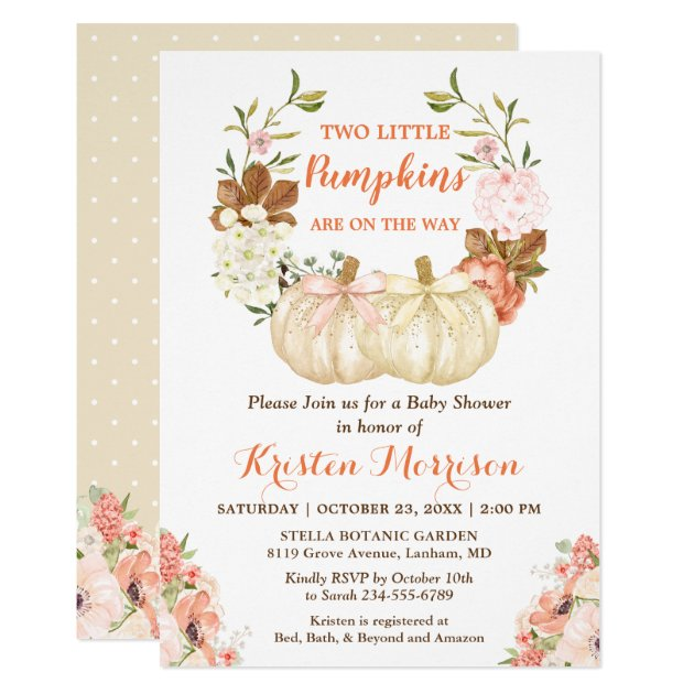 75 Best Twins Baby Shower Invitations Mimoprints