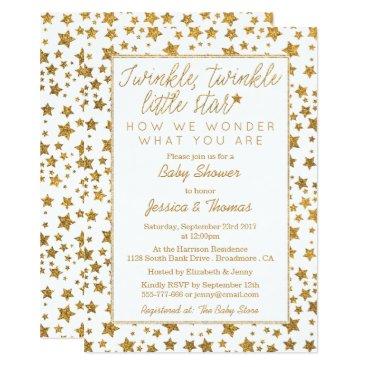 Twink, Twinkle Little Star Baby Shower Card