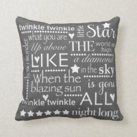 Words Pillows