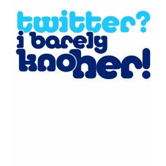 Twitter Barely kno her 2.O wmn wht lngslv sht shirt