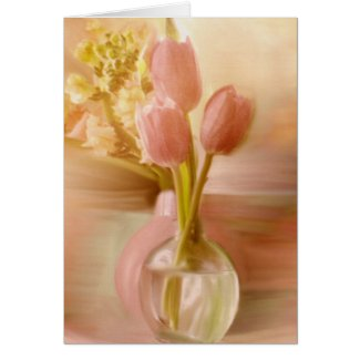 Two Vases Greeting Cards