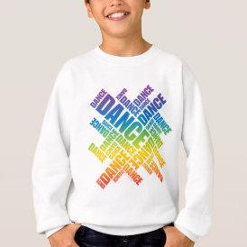 Typographic Dance (Spectrum) Sweatshirt