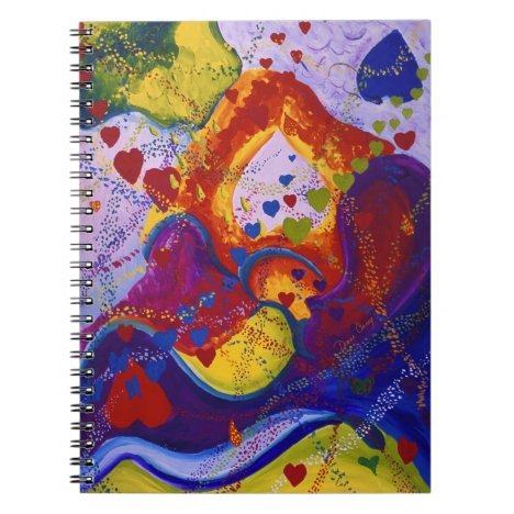 Underground – Crimson & Iris Hearts Notebook