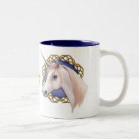 Unicorn Dreams Two-Tone Coffee Mug