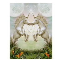 Unicorn HeartEnergy Poster