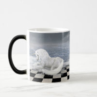 Unicorn in Surreal Seascape Morph Mug