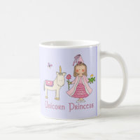 Unicorn Princess Coffee Mug