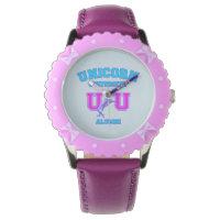 Unicorn University Wrist Watch