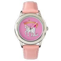 Unicorn with Rainbow and Heart Watch