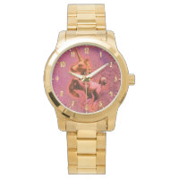 Unicorn Wrist Watch | Red Intensity