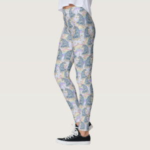 Unicorns With Rainbows Leggings