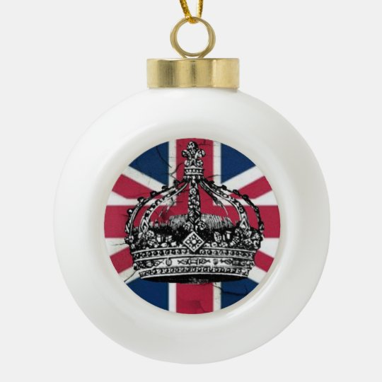 Union Jack Christmas Decorations