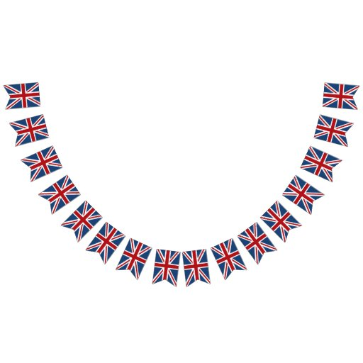 Union Jack UK Patriotic Flag Red White Blue