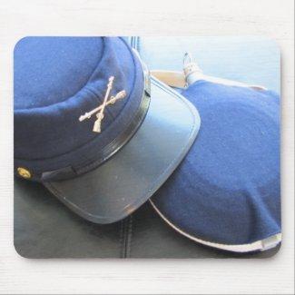 Union Soldier Cap - Civil War Mouse Pads